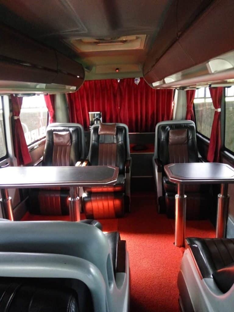 Interior Bus Executive Class Pandawa 87