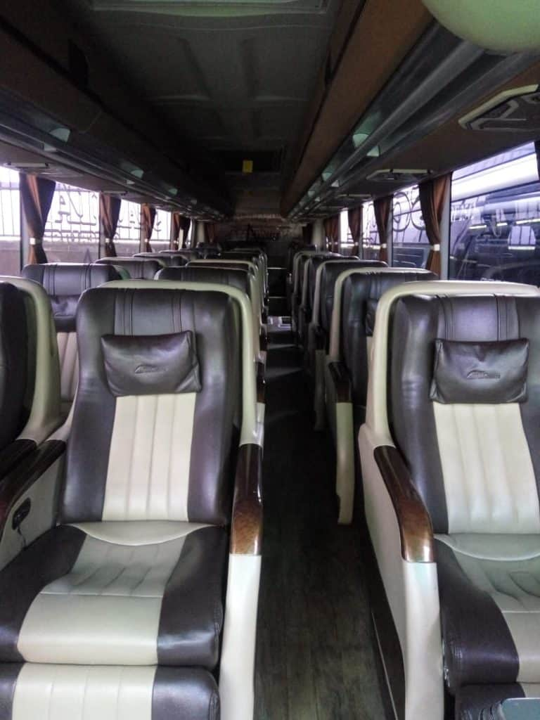 Interior Bus Executive Pandawa 87