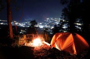 camping di batu